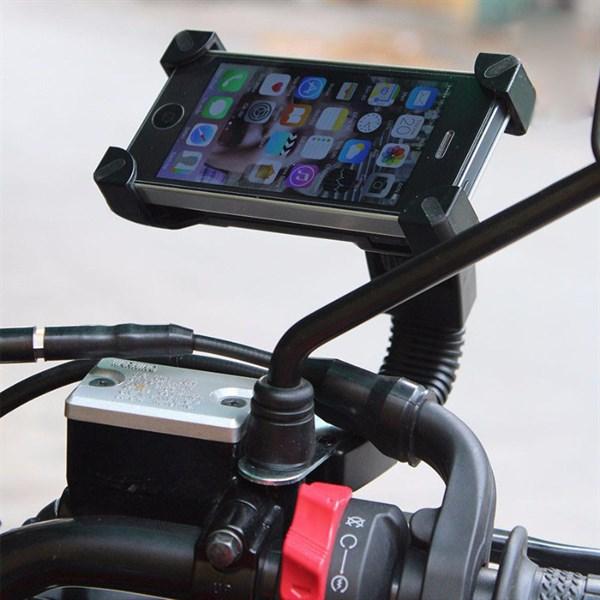 kẹp điện thoại trên xe máy hình chữ nhật