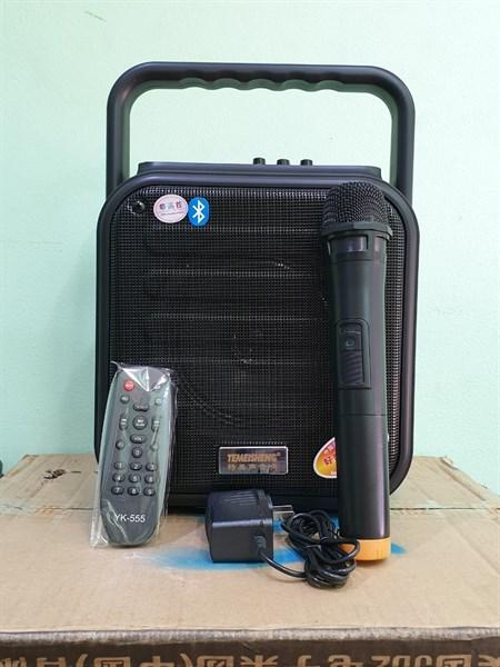 Loa bluetooth Temeisheng A6-4 + Kèm 01 mic không dây