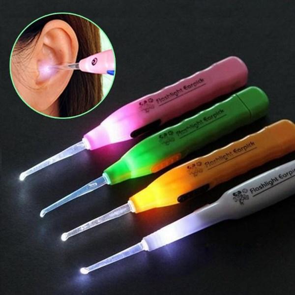 Dụng cụ lấy ráy tai có đèn loại rẻ