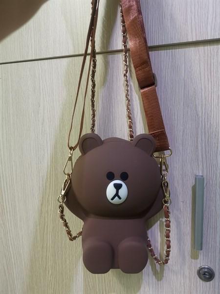 Túi đeo chéo hình gấu