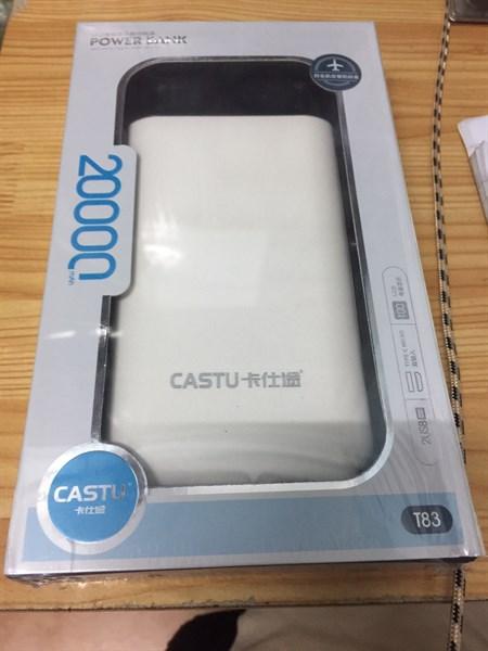 Pin dự phòng Castu T83 20000mah chính hãng