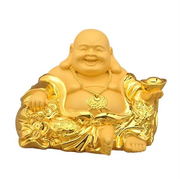 Tượng phật di lặc mạ vàng loại cao cấp