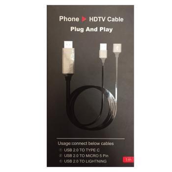 Cáp HDMI đa năng từ đt lên tivi