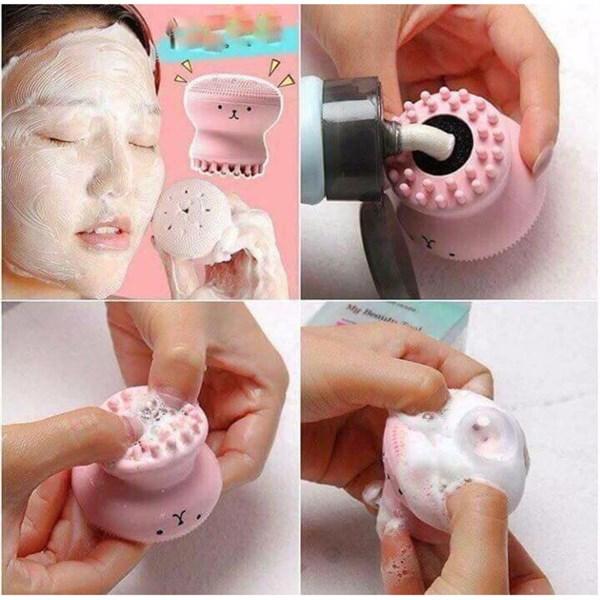 Dụng cụ massage rửa mặt bạch tuộc
