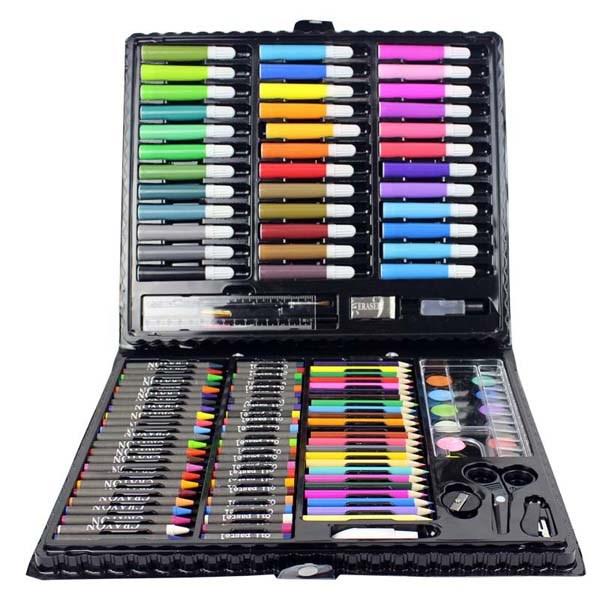 Bộ chì tô màu 150 chi tiết cho bé
