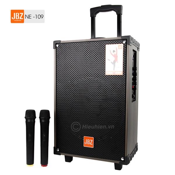 Loa kéo 2 mic JBZ 109 - 33.5 x 22 x 50 (cm)