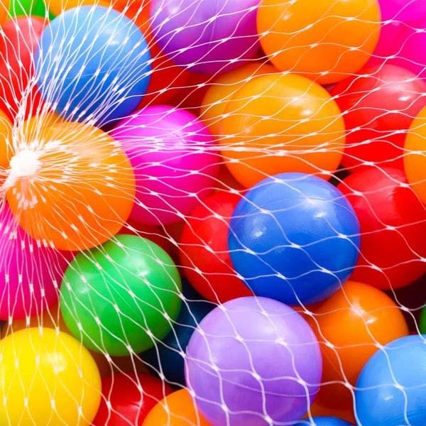 Bịch 100 quả bóng nhựa cho bé