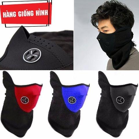Khẩu trang Ninja đi phượt nửa mặt