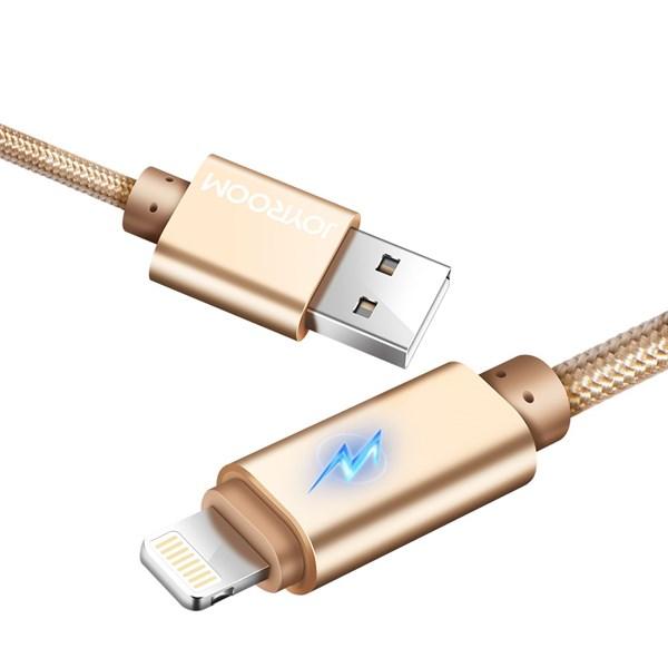 Cáp sạc nhanh Iphone 1m có đèn Joyroom