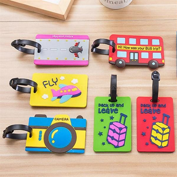 Thẻ hành lý cute