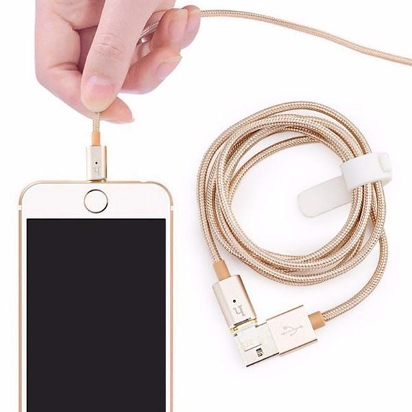 Cáp sạc dây dù Iphone 1m