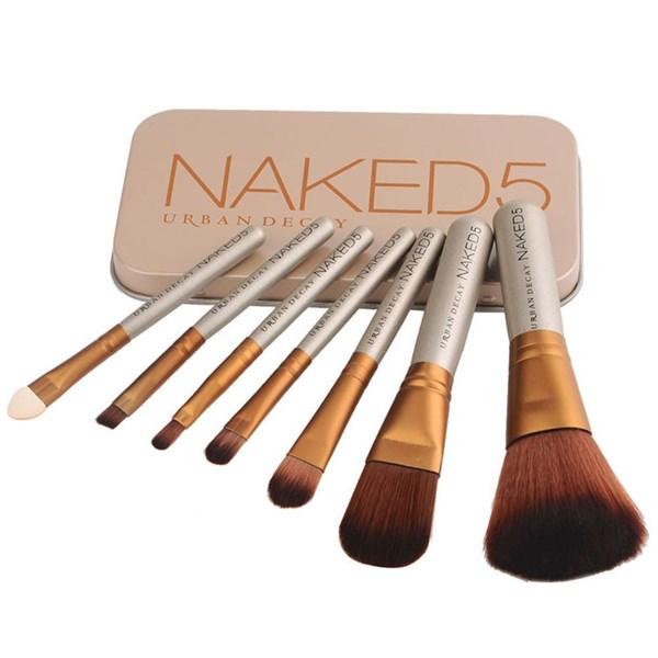 Bộ cọ trang điểm Naked5 7 món