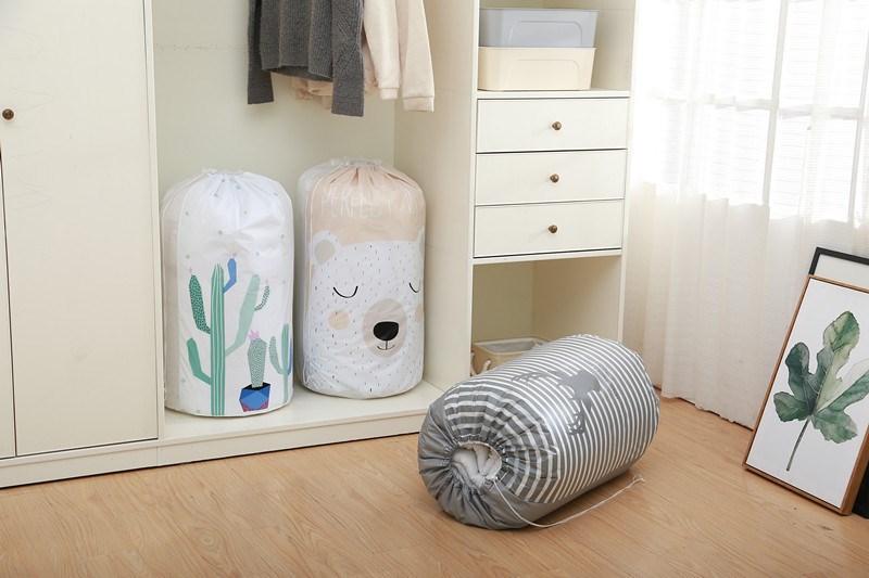 Túi đựng chăn màn cuộn tròn 84*42cm
