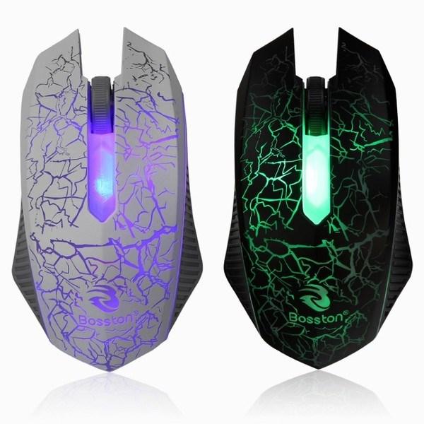Chuột chính hãng Bosston X14 LED 7 màu