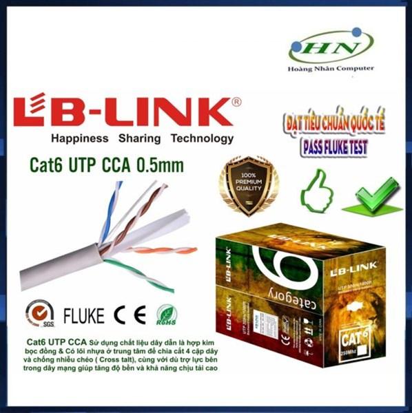 Cáp mạng LB-LINK 6E UTP-CCA 0.5mm-305m