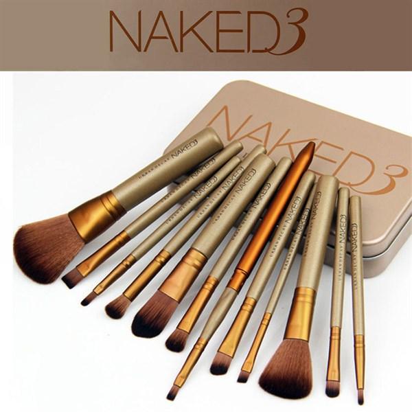 Bộ cọ trang điểm Naked3 12 món