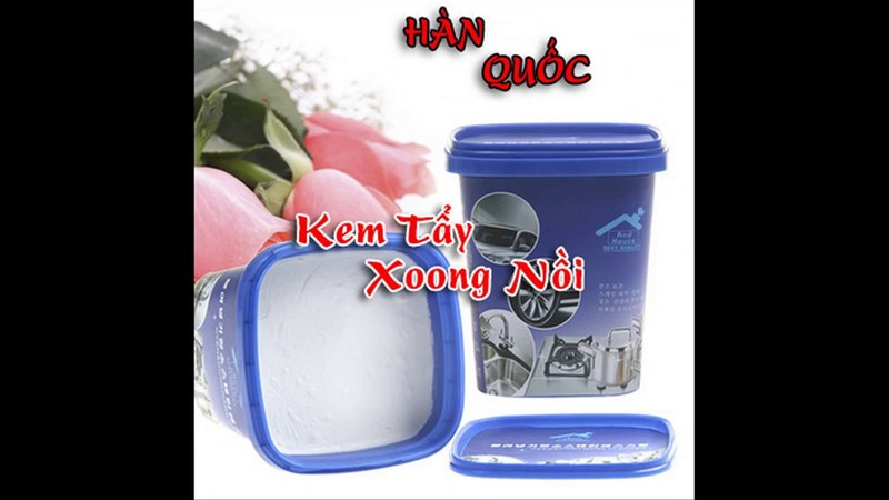 Kem tẩy trắng nồi Hàn Quốc