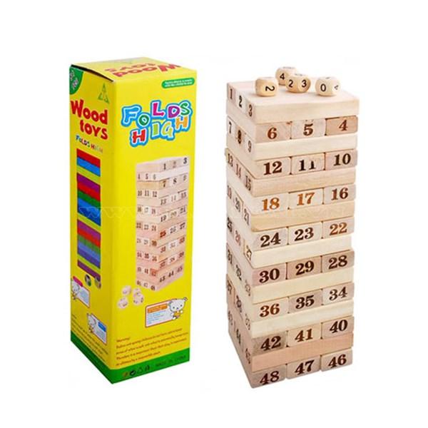 Bộ đò chơi rút gỗ lớn