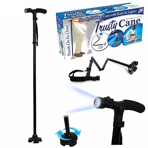 Gậy chống trượt cho người già có đèn pin Trusty Cane