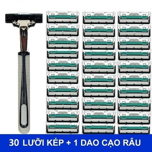 Bộ 36 dao cạo râu lưỡi kép