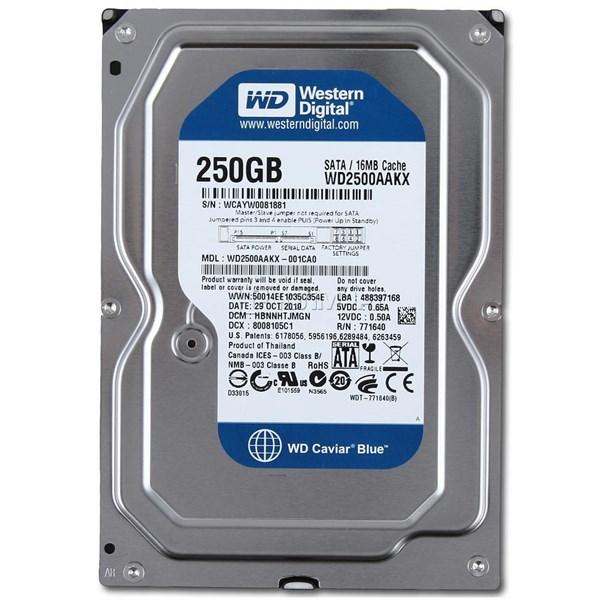 HDD 250GB WD BLUE