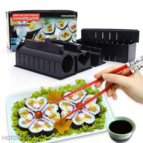 Dụng cụ làm Sushi 11 món