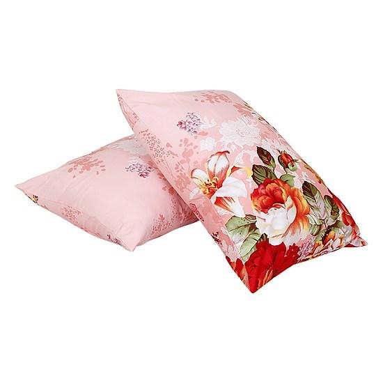 Combo 2 gối khách sạn Everon 45*65 hoa hồng loại đẹp