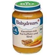 Hũ dinh dưỡng ăn liền vị bò carot 4m - Babydream karotten mít karrtoffeln und rind