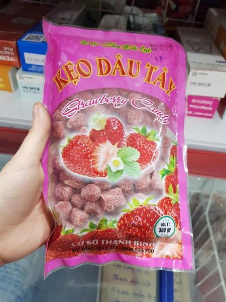 Kẹo dâu tây Strawberry 300g
