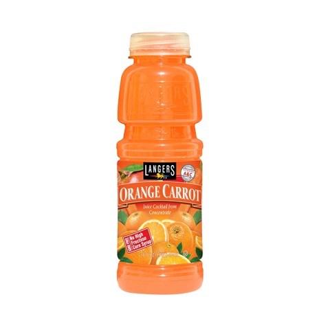 Nước trái cây cam và cà rốt Langers 474ml
