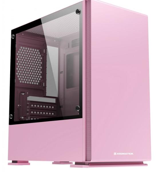 Bảng giá Vỏ máy tính vỏ Case PC màu Hồng Xigmatek NYC Queen Mid Tower Phong Vũ