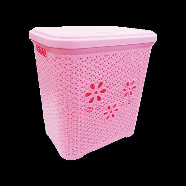 Giỏ nhựa nắp hoa 5159
