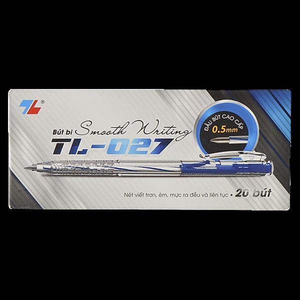 Bút bi TL-027 xanh-TL027X
