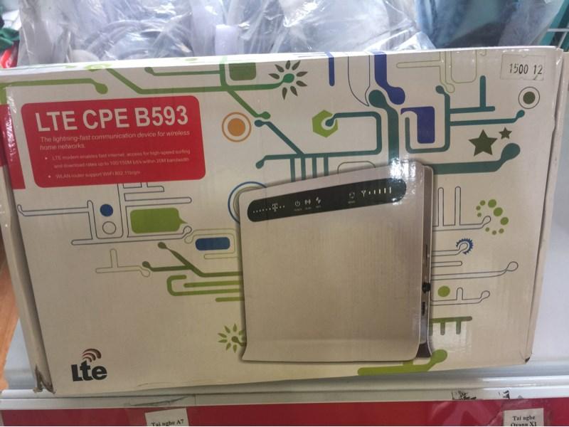 Router wifi gắn sim 4G HUAWEI B593