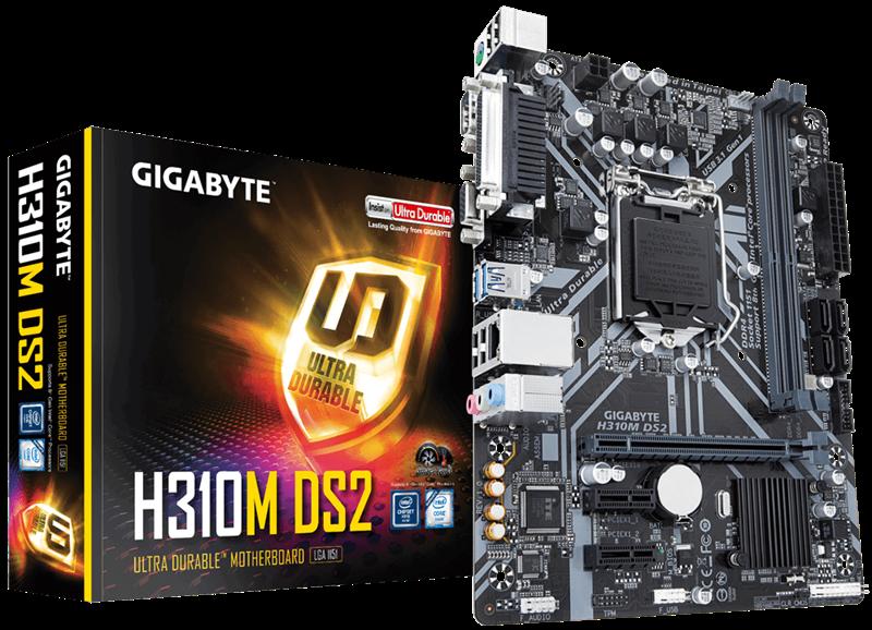 Mainboard Gigabyte H310M-DS2 chính hãng