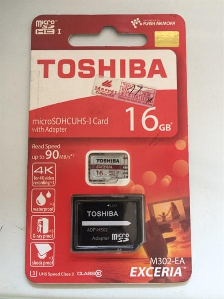 Thẻ nhớ toshiba 16G box đỏ