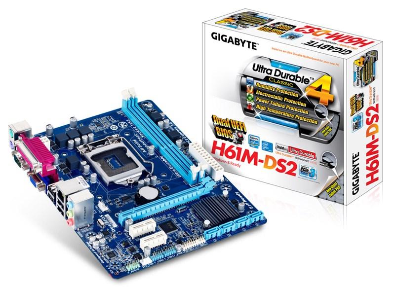 Mainboard Gigabyte H61M-DS2 chính hãng