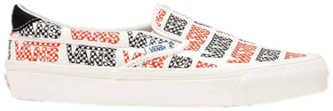 Vans Vault Slip-On 59 LX 'Racing Red Logo Checkerboard'