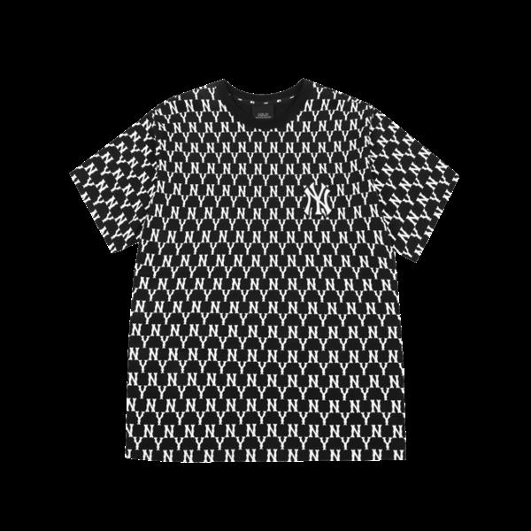 áo MLB Monogram Black NY mẫu 2021