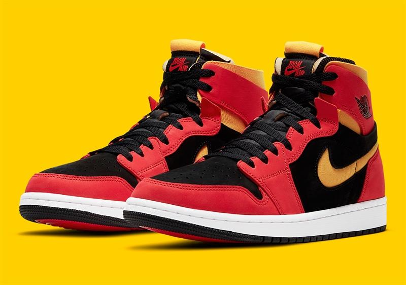 Jordan 1 Zoom Air High Chile Red CT0978 006