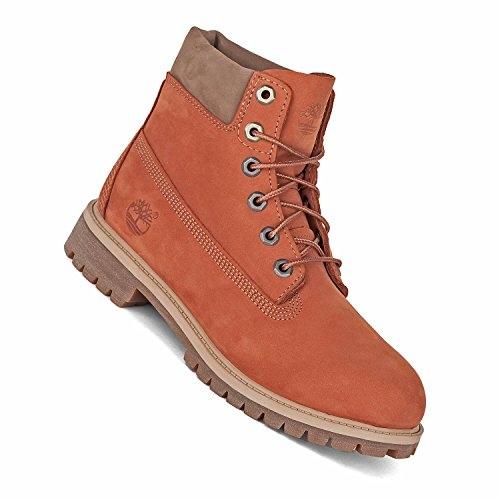 Timberland Boot 6inch Premium Dark Orange