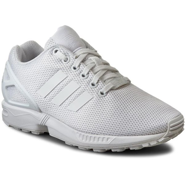 Adidas Zx Flux All White S32277