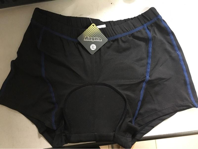 Quần Đùi Bỉm Aogda - Màu Đen Chỉ Xanh - Size XL (Chiếc)