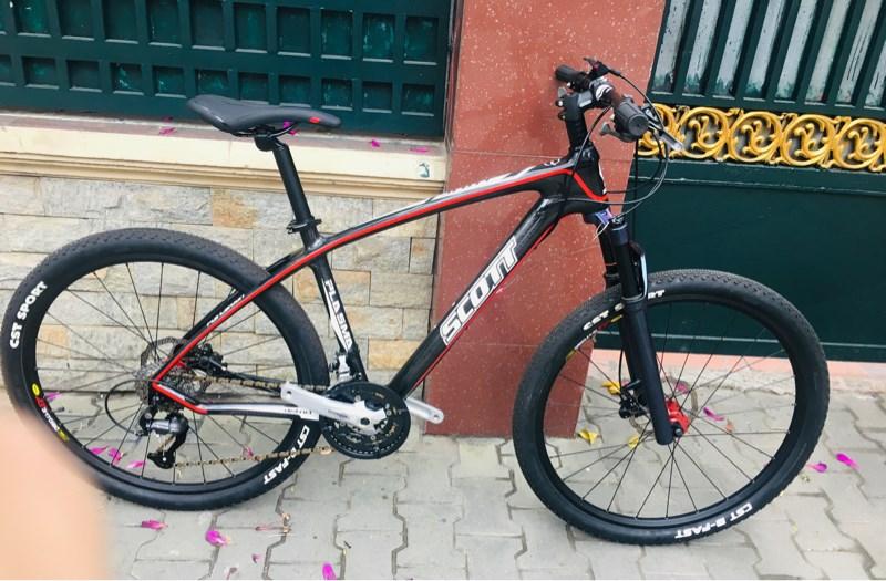 Xe Scott Carbon màu đen đỏ ( vành 27.5 bạc đạn) - SP001133 (chiếc)