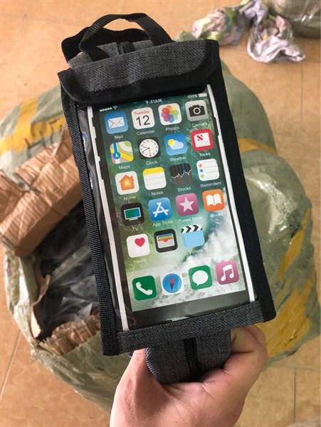 Túi Hộp khung trước chống nước + đựng Smartphone chữ K (chiếc)