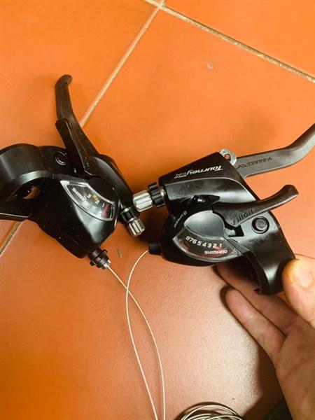 Tay bấm đề Shimano Tourney 8s - ST-TX800 Indonesia (Đôi)