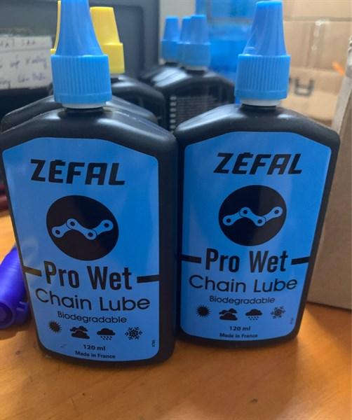 Dầu xích Zefal Pro Wet - Đen Xanh - 120ml (Chai)