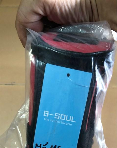 Túi Cọc yên B-Soul các màu. - Đỏ (Chiếc)
