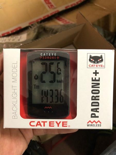 Đồng hồ cateye padrone+ PA 110 có đèn nền