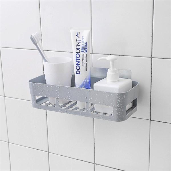 Khay nhựa dán tường để đồ nhà tắm